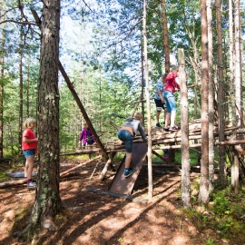 Adventure week for children from 5 years and older